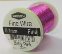 Ultrafine Dry Fly Wires 0.1mm