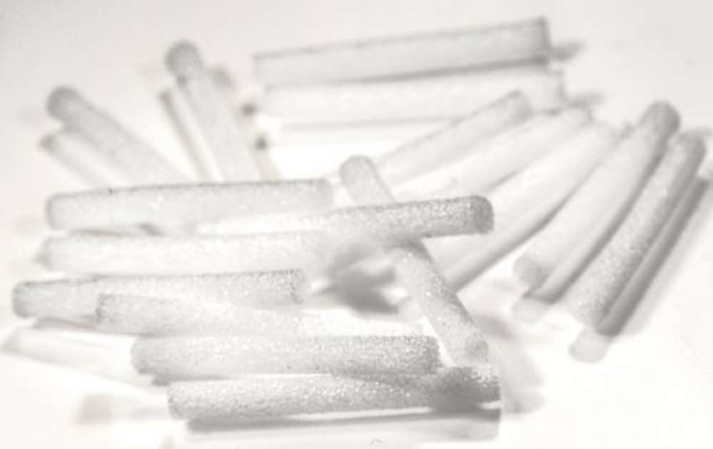 2.6mm Booby Tube in White