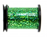 Semperfli Spool 1/32'' Holographic Green Tinsel