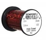 Semperfli Spool 1/32'' Holographic Red Tinsel