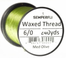 6/0 Waxed Thread