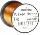 8/0 Waxed Thread