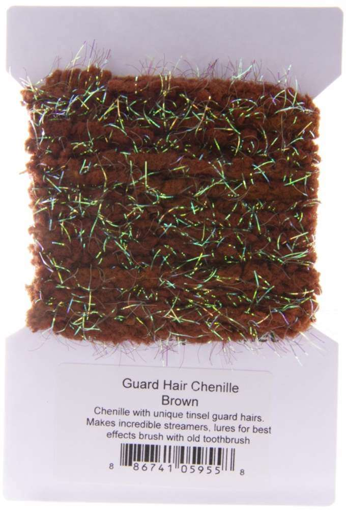 Guard Hair Chenille Brown SF2200