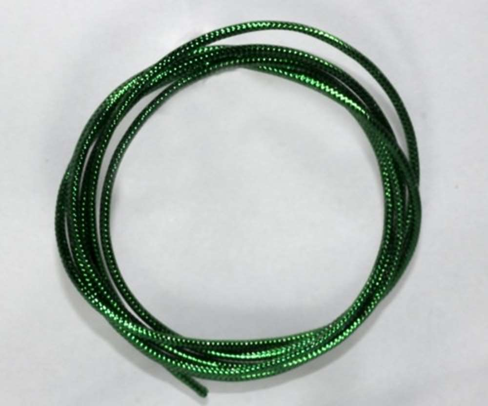 Semperfli Mylar Cord (1.6mm) Green