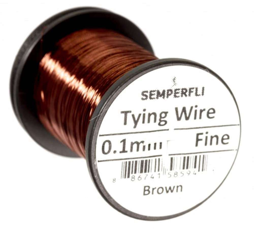 Ultrafine 0.1mm Wire Thin Brown