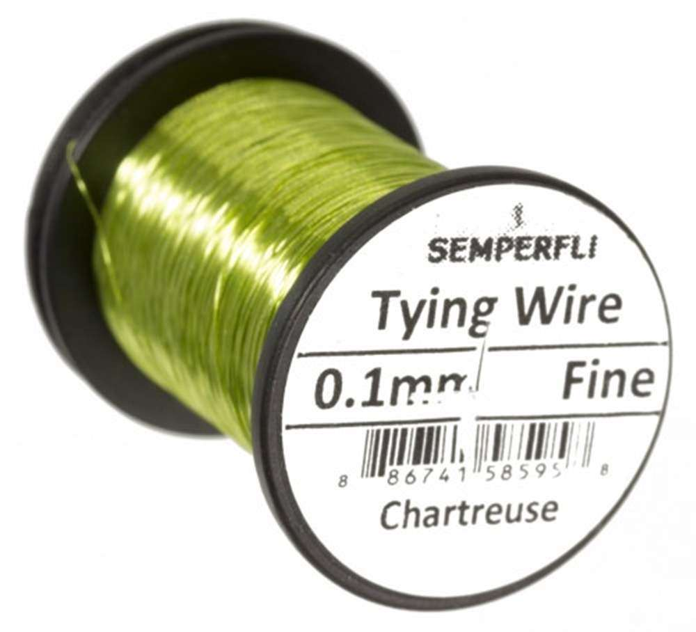 Ultrafine 0.1mm Wire Thin Chartreuse