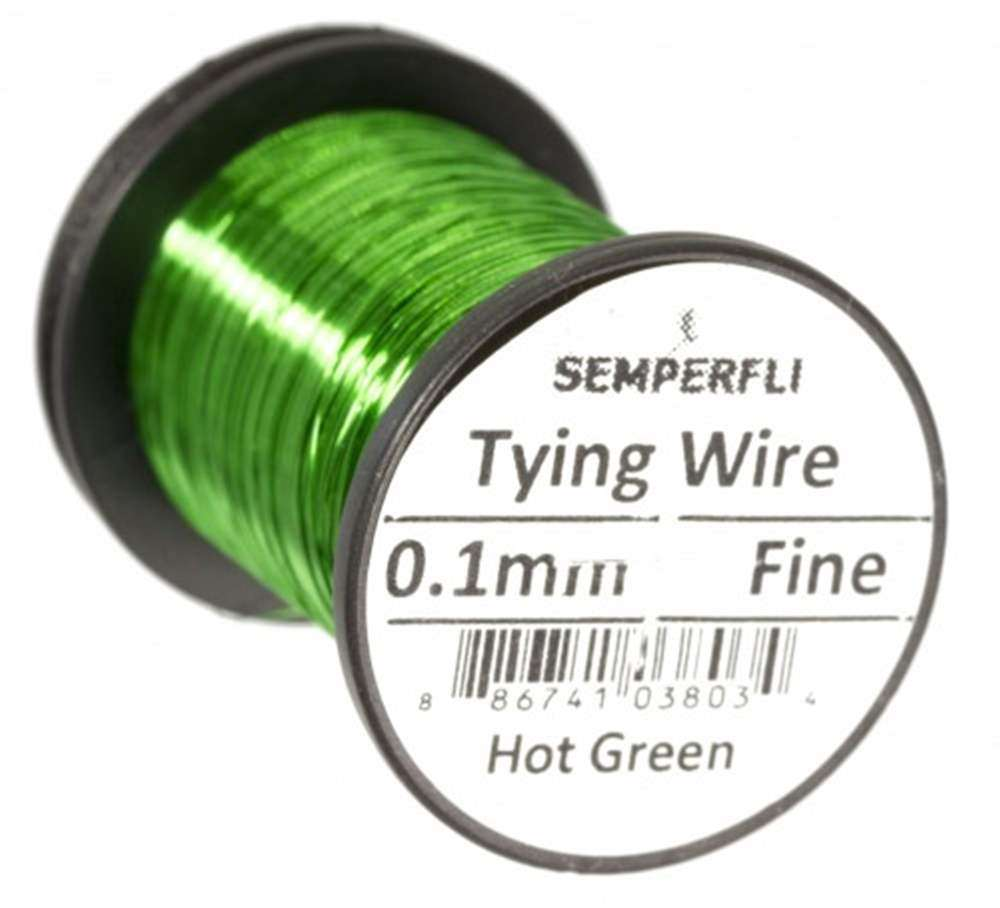 Ultrafine 0.1mm Wire Thin Hot Green