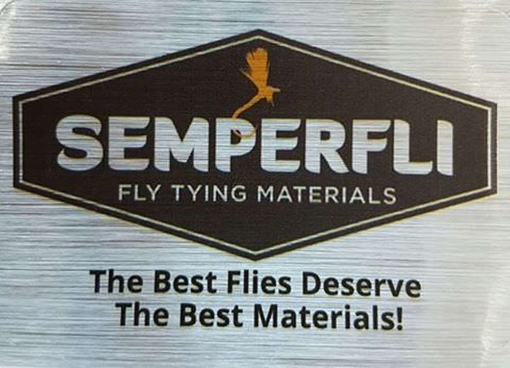 Semperfli Promotional Sticker 30x15mm (Clear) Small