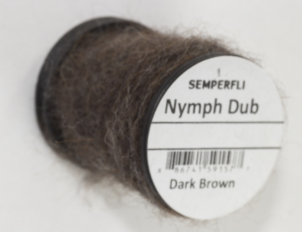 Semperfli - Nymph Dub - Dark Brown
