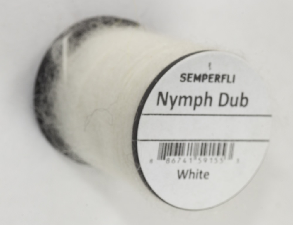 Semperfli - Nymph Dub - White