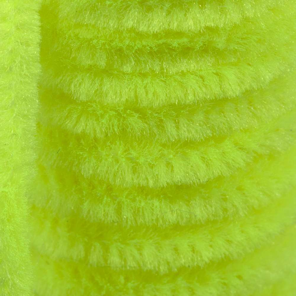 Semperfli Sparkle Worm Chenille Fl. Yellow