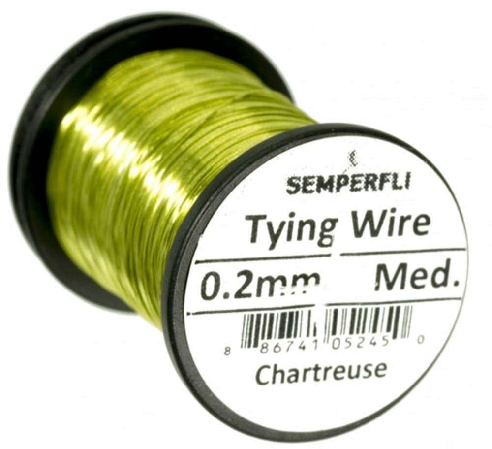 Semperfli - Wire - 0.2mm - Chartreuse