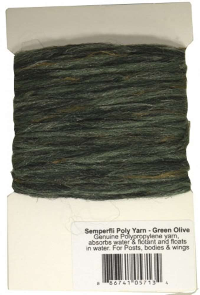 Semperfli Poly-Yarn Dark Green Olive